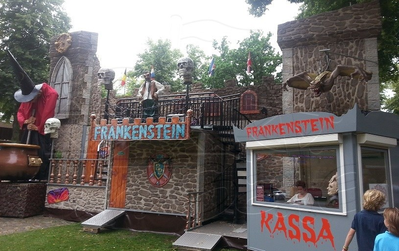 Used ride Frankenstein Ghost House for sale